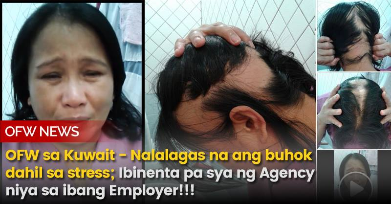 An OFW in Kuwait is asking for help: She wants to go back to the Philippines.