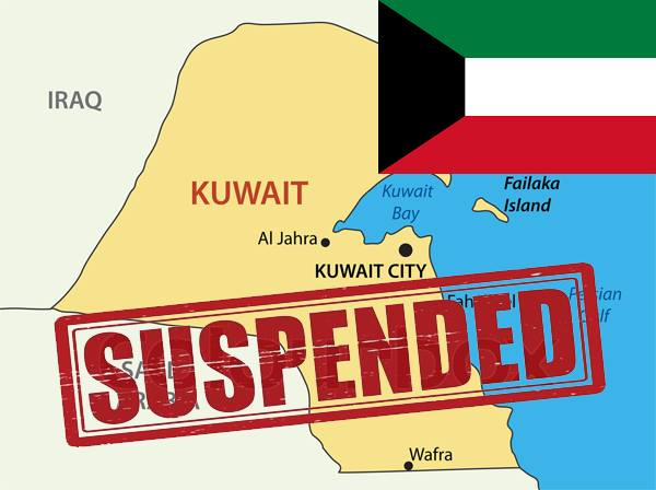 DOLE suspends sending out OFWs in Kuwait.