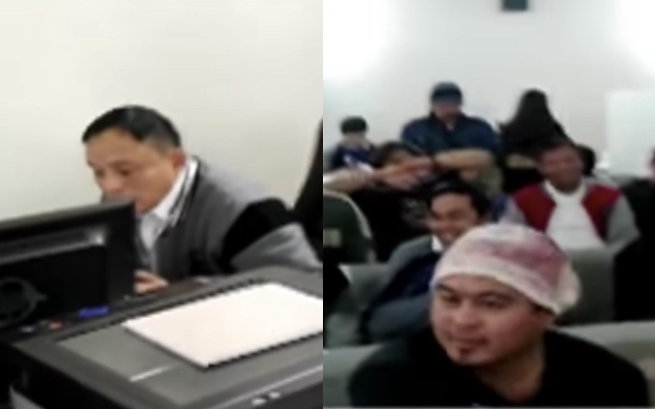 OFWs were not happy with the services of the Philippine Embassy. [Image Credit: Raffy Tulfo in Action]