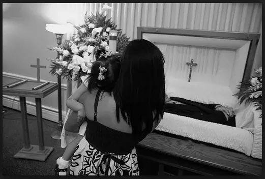 A wife was devastated after her OFW husband died.