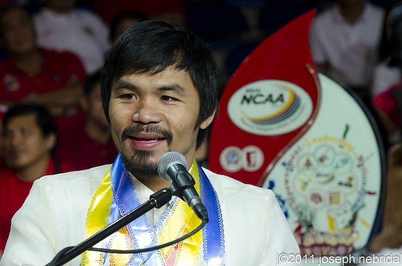 Senator Manny Pacquiao is suggesting death penalty for the employers. [Image Credit: Wikimedia Commons]