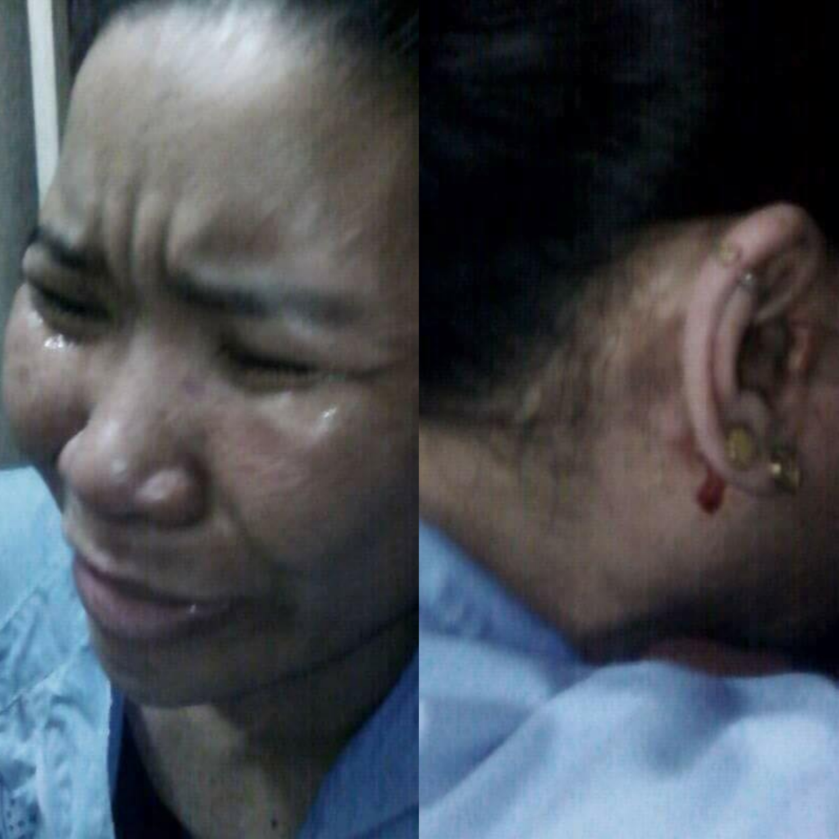 An OFW in Saudi Arabia is now crying for help since her employer might kill her. [Image Credit: OFW CCTV / Facebook]