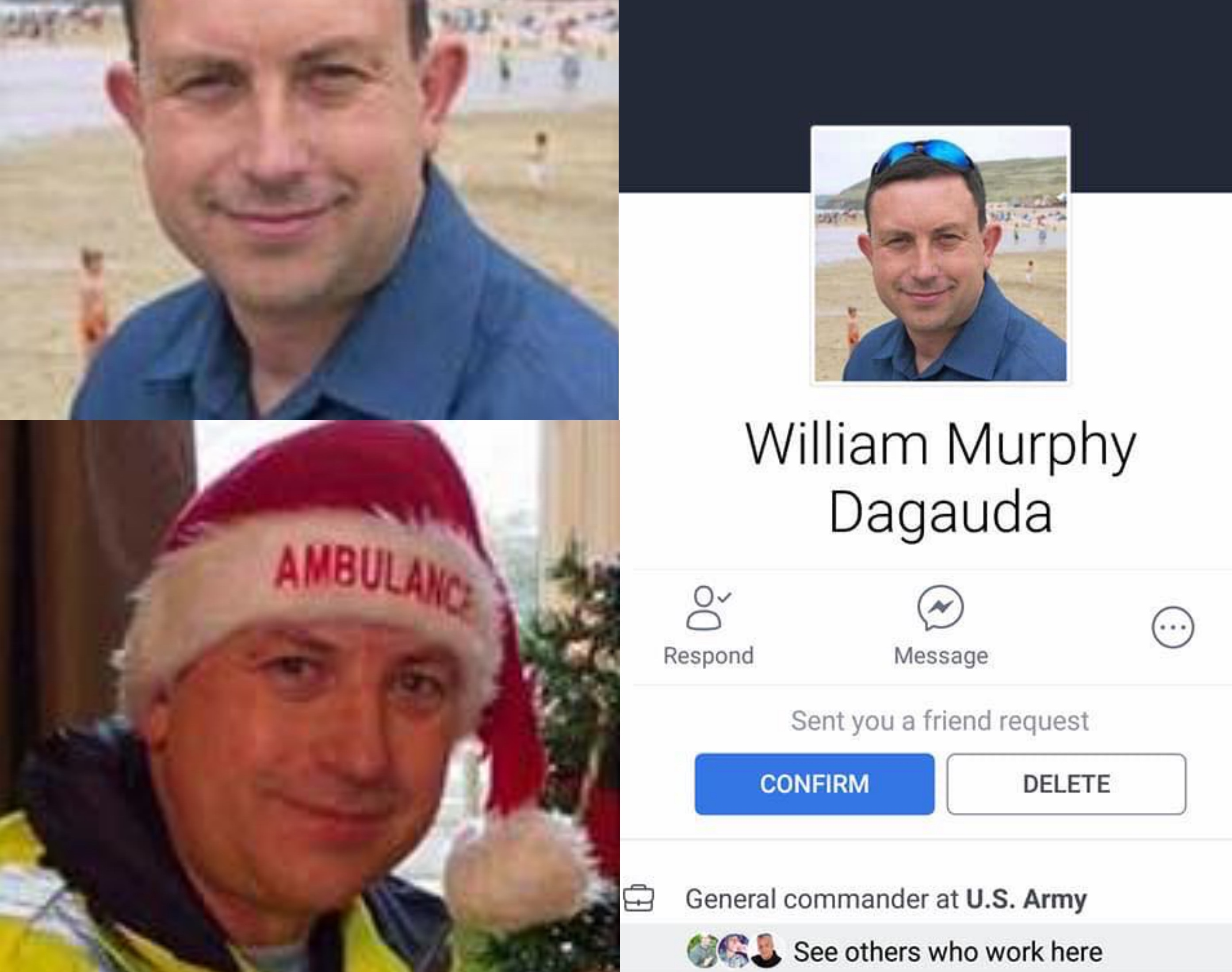 A certain William Murphy is making rounds online. [Image Credit: OFW Kalingawan/Facebook]