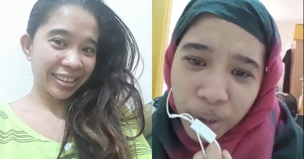 A domestic helper in Saudi Arabia started suffering from abuse because of her female employer because of jealousy. [Image Credit: OFW CCTV / Facebook]