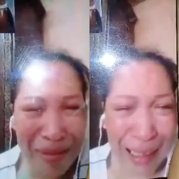 The employer of an OFW in Riyadh refused to allow her to go home. [Image Credit: Odessa Pearl Pansoy / Facebook]