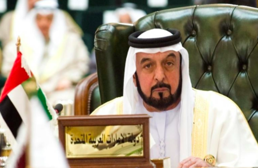 His Highness Sheikh Khalifa bin Zayed Al Nahyan approved the law that will protect domestic workers in UAE. [Image Credit: RTVMalacanang / Youtube]