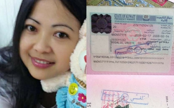 The missing OFW last contacted her family in 2015. [Image Credit: Alyn Matusalem Pomantoc / Facebook]