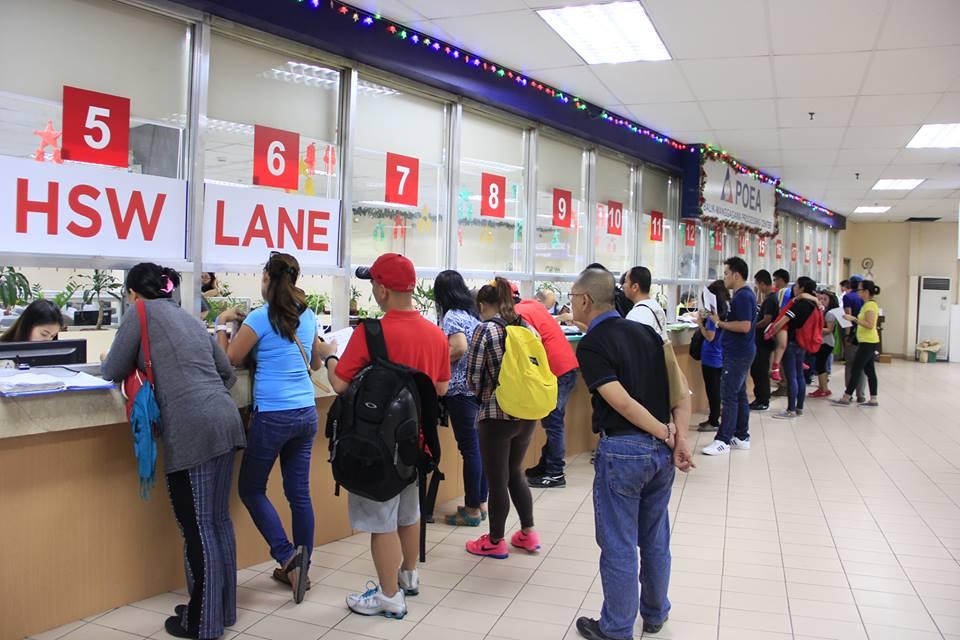 [Image Credit: Philippine Overseas Employment Administration (POEA) / Facebook]