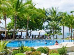 Camayan Beach Resort is a family-friendly destination. [Image Credit: Expedia]