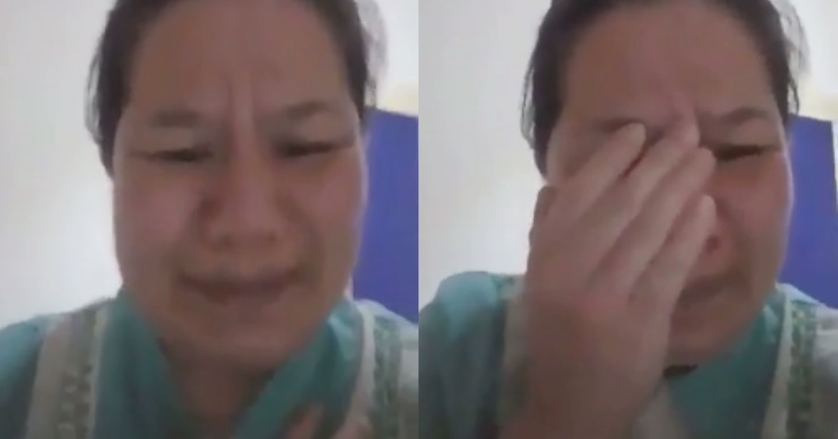 The domestic helper is fearing for her life now. [Image Credit: OFW CCTV / Facebook]