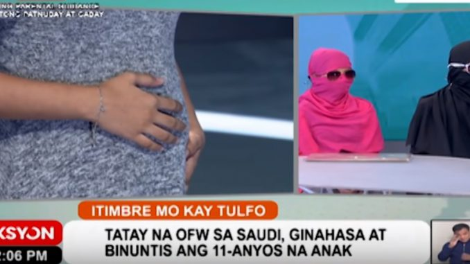 OFW raped his 11-year old daughter and got her pregnant - OFW Newsbeat