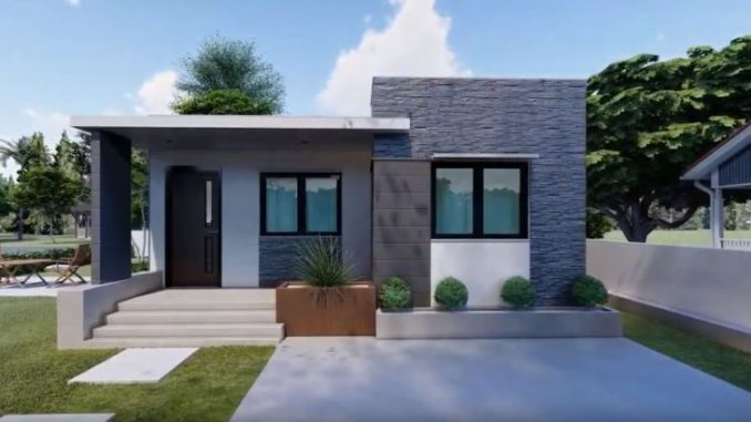 Two Bedroom Modern House Design Ofw Newsbeat