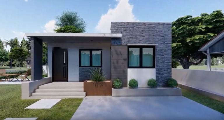 Two Bedroom Modern House Design Ofw Newsbeat